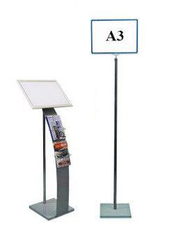8. Стойки для рекламы, информации. Рекламно-информационные стойки.